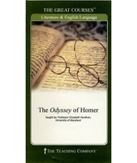 BRAND NEW SEALED The Odyssey of Homer: The Great Courses Book and 2 DVD set - $22.67