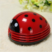Mini Ladybug Desktop Coffee Table Vacuum Cleaner Dust Collector For Home Office - $12.16