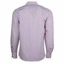 Berlioni Italy Men's & Boys Premium Yarn Dyed Luxe Cotton Dress Shirt Modern Fit image 11