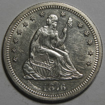 1876S  Seated Liberty Quarter 25¢ Coin Lot# MZ 4074