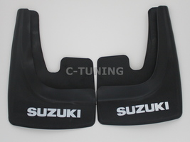 New Universal car mud flaps with Suzuki logo rear or front snow guards 3... - £22.80 GBP