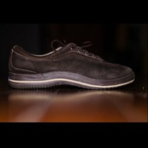 Keds Size 8 39 Sneakers Brown Suede Women's Lace Up Fashion - $25.52 CAD