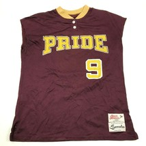 VINTAGE Ripon Mountain Pointe Pride Baseball Jersey Size Large Henley Sh... - $27.33