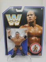 WWE Mattel Retro Series 2 The Rock Wrestling Action Figure MOC WWF - $34.99