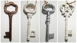 NEW ~ Hanging Decorative Skeleton Keys ~ Metal Antique Home Decor Ornament - $2.95