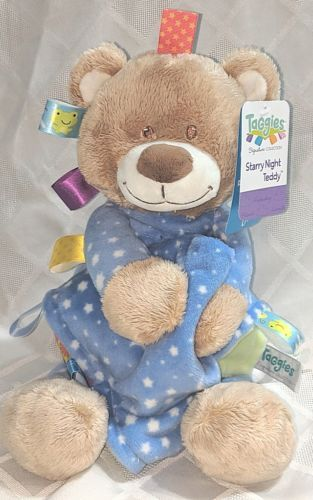 Mary Meyer Baby 40193 Taggies Signature Collection 15 inch Starry Night Teddy