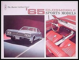 1965 Oldsmobile Sports Brochure- Starfire Jetstar 442 - $7.12