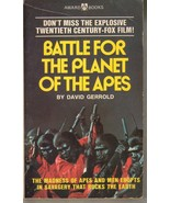 Battle for the Planet of the Apes by David Gerrold Paperback Movie Sci-Fi - $7.91