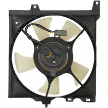 RADIATOR FAN ASSEMBLY NI3115128 L/H FOR 95-00 NISSAN 95-98 SENTRA 200SX image 2