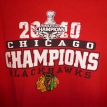 Chicago Blackhawks 2010 Stanley Cup Champions Xl T Shirt Red - $10.84