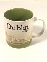 STARBUCKS DUBLIN IRELAND Coffee Tea Mug 16oz Cup 2016 Ha'Penny Bridge Ei... - $44.54