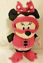 "Disney Minnie Mouse Soapsox - Bathtub Scrub Toy - Plush Toy 9"" Tall* Sca... - $13.23"