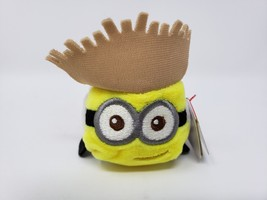 Teeny Ty Mini Soft Plush Stuffed - New - Despicable Me Tourist Dave - $8.54