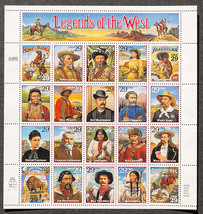 Legends west 29 stamps thumb200