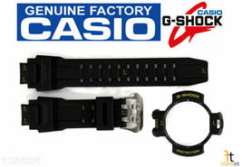 CASIO G-Shock GA-1000-9G Original BLACK Rubber Watch BAND & BEZEL (Top) ... - $59.95