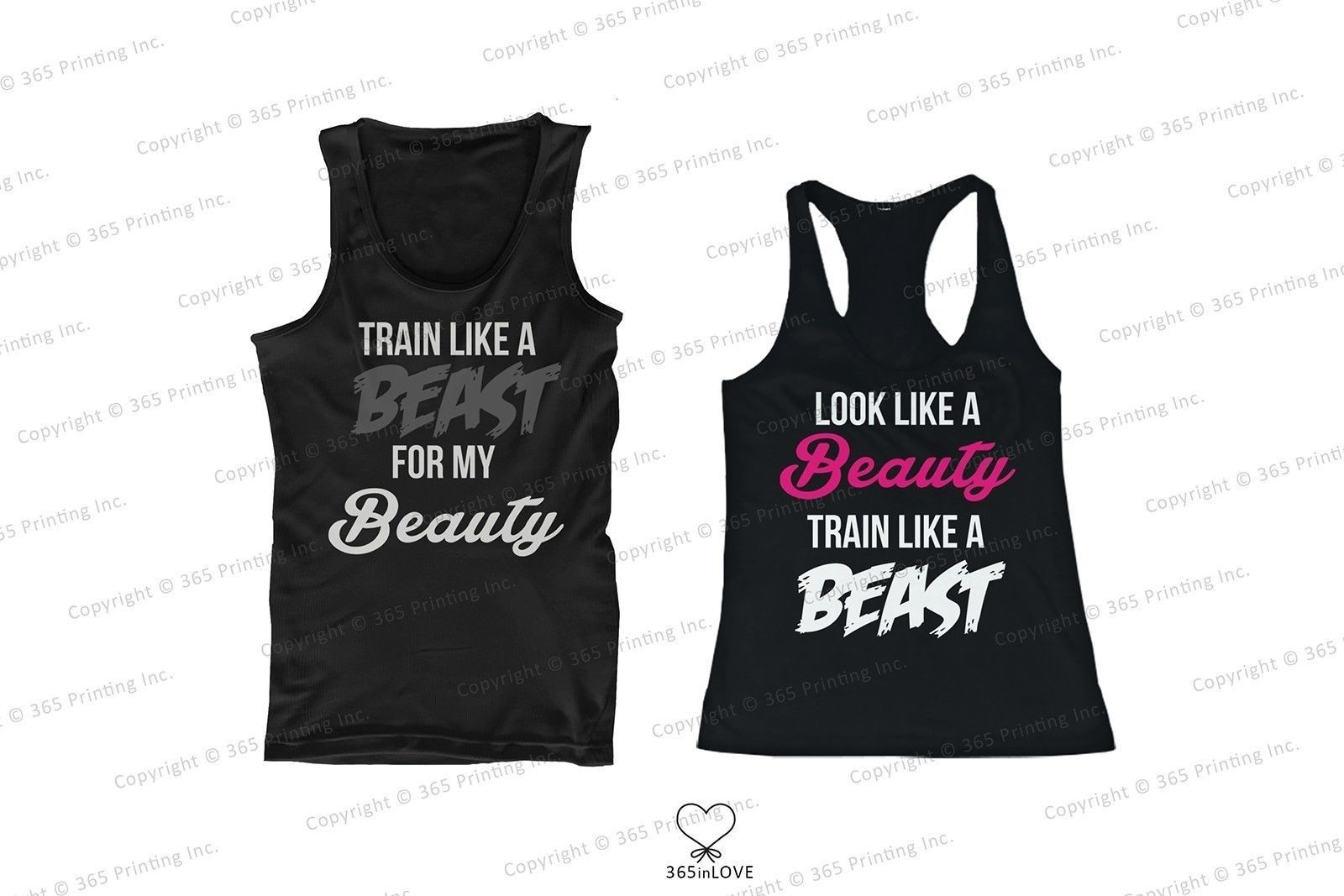 Mad Over Shirts Look Like A Beauty Train Like A Beast Unisex Premium Tank Top
