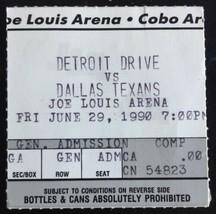 Dallas Texans Danny White Joe Louis Arena Game Ticket Stub Arena Footbal... - $19.79