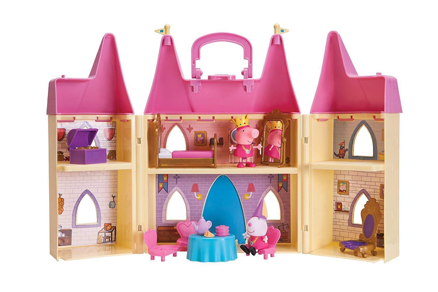 Peppa Pig's Princess Castle Deluxe Playset [New] Children's Toy Set