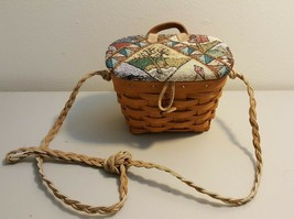 Longaberger 1994 Small Key Basket Made Into Kiddie Purse - $12.00