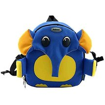 Blue Elephant Toddler Backpack Infant Lovely Knapsack Cute Baby Bag