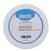 """Mirucoo Non-woven Wax Strip Roll for Body and Facial Hair Removal, 2.75"""" x 100 Y image 8"""