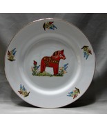 Fine China Swedish Horse Plate by Royal Ann, MN - $3.49