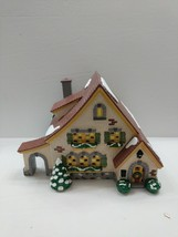CARMEL COTTAGE #54666 Retired Dept 56 Snow Village 1994  Lights Work, Or... - $29.69