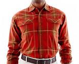 Men's Haggar Ottoman-Weave Plaid Shirt Msrp $50.00 New Size S