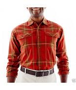 Men's Haggar Ottoman-Weave Plaid Shirt Msrp $50.00 New Size S  - $14.99