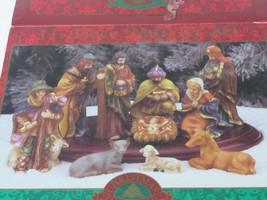 11-Piece Ceramic Nativity Set in Box - Christmas Fantasy Ltd. - $5.89