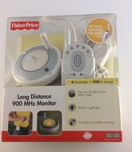 Fisher Price Long Distance 900 M Hz Baby Monitor 900 Ft Range - $28.70