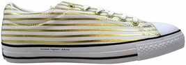 Converse Chuck Taylor All Star OX White/Rich Gold 148371C Men's Size 10 - $80.00