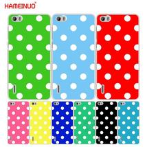 HAMEINUO Creative Design Polka Dot cell phone Cover Case for huawei hono... - $12.93