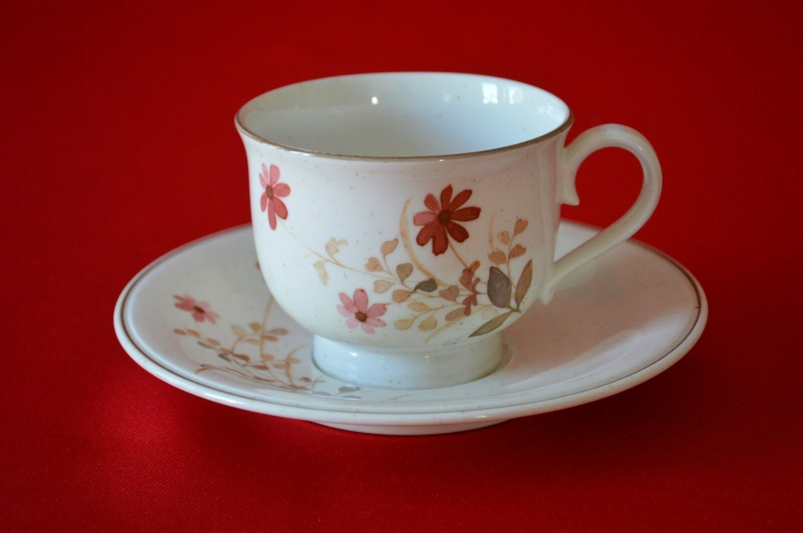 Primary image for Noritake  Versatone Outlook Dinnerware Tea Cup & Saucer