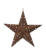 Tin Star with Star Cutouts, 8 inches - $8.00