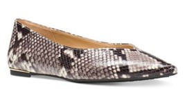 Michael Kors Lizzy Flat Empossed Leather Sz 7 MSRP $110 - $110.00