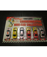 1996 Kellogg's Corn Flakes Racing 6 Commemorative Mini-Car Collection NA... - $5.87