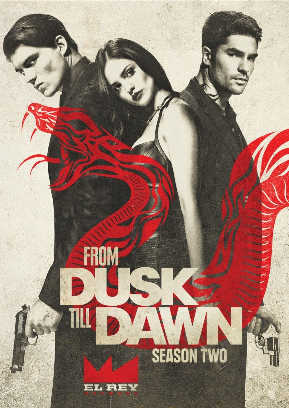 From dusk till dawn second season two 2  dvd 2016 3 disc  dj cotrona  zane holz