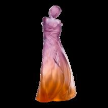 DAUM Crystal L'Hiver en Soi in Amber & Pink by Marie-Paule Deville 05579-1 NEW  - $6,435.00