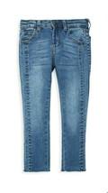 Joe's Girls Hig Rise Skinny Ankle Raw Hem Adj. Waist Jeans Sz10 Blue Str... - $17.59