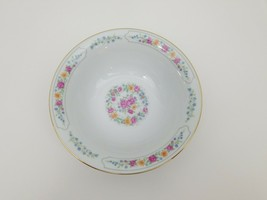 "Liling Fine China Round Serving Bowl 9"" x 2 5/8"" Yung Shen White Roses K... - $12.59"