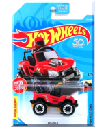 Hot Wheels - Bogzilla: HW Ride-Ons #4/5 - #287/365 (2018) *Red Edition* - $3.00