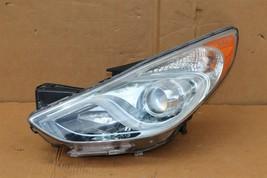 11-15 Hyundai Sonata Hybrid Projector Headlight Driver Left LH - POLISHED image 1