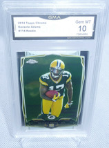 2014 Topps Chrome Davante Adams Rookie Card #114 GMA Graded Gem Mint 10 #2 - $89.09