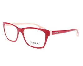 Authentic Vogue Eyeglasses VO2714 2013 Top Red Pink Frames 54MM Rx-ABLE - $49.89