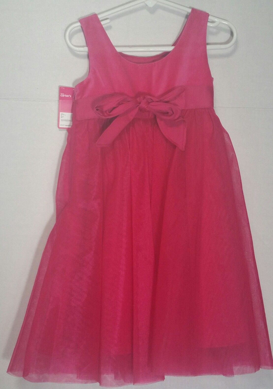7831563db8b0 Carters Dress 2T Pink Tulle Velvet Toddler 2 and 50 similar items