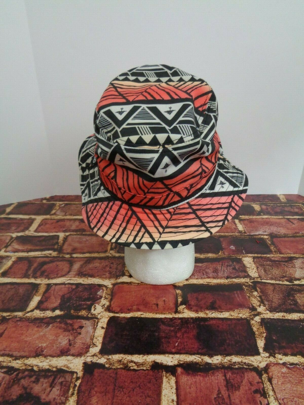 LRG Lifted Research Group FLOPPY Cap Hat Sun Fashion Black Orange Red True Heads image 4