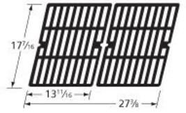 Music City Metals 68312 Gloss Cast Iron Cooking Grid Replacement for Gas... - $70.06