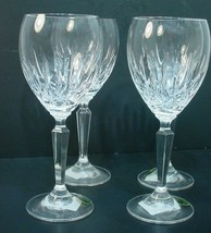 4 Waterford Fine Crystal Mourne Claret Glasses - $296.01