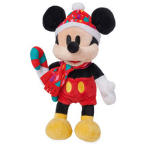 Disney Mickey Chear Holiday Mini Bean Bag Plush New with Tags - $12.93